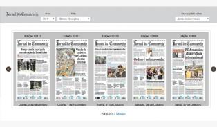 Jornal Commercio - Loja